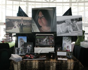 Texas Tradition Photography Bridal show booth